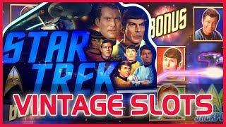 • Star Trek + Lord of the Rings #VintageSlots • • Slot Machine Pokies w Brian Christopher