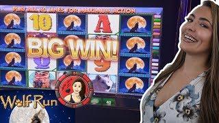 Wolf Run Slot Machine Wins FEATURING. Grand Jackpot on Eureka Blast!