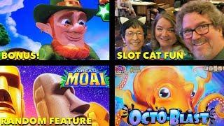 Pala • Rudie Cat Jody •• The Great Moai • Octoblast • Lepre'coin • The Slot Cats •