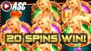 BIER HAUS OG | WMS - 20 SPINS Big Win! Slot Machine Bonus