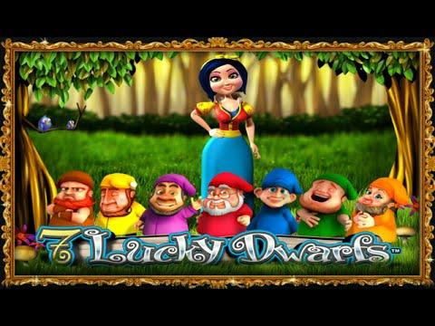 Free 7 Lucky Dwarfs slot machine by Leander Games gameplay ★ SlotsUp