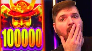 I FINALLY GOT IT! • Landing the BIGGEST $ On Wild Wild Samurai Slot Machine!