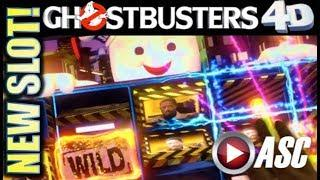 •NEW SLOTS!• GHOSTBUSTERS 4D & SPHINX 4D (IGT) G2E 2017 SNEAK PEEK PREVIEW! SLOT MACHINE BONUS