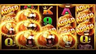 •SUNSET KING SLOT MACHINE! HUGE WINS! MULTIPLE FEATURES!