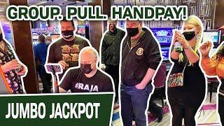 ⋆ Slots ⋆ Group. Pull. HANDPAY! ⋆ Slots ⋆ 100 Spins to Win at Hard Rock Hollywood