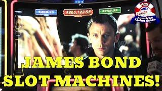 Three New James Bond Slot Machines From Scientific Games