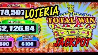JACKPOT HANDPAY: Loteria La Sirena High Limit Lock it Link