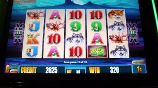 Buffalo DELUXE Slot Machine Bonus Round Free Spins