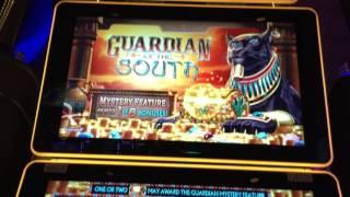 SG/Bally Guardians Of The South - PART 1 - Bonuses and Live Play - TWIN STAR Slot Machine