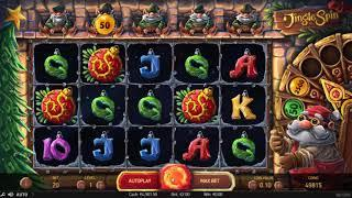 Jingle Spin slot from NetEnt - Gameplay