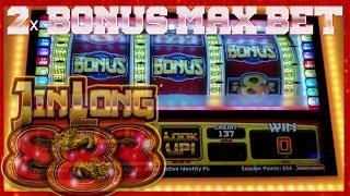 • NEW JIN LONG 888 • JACKPOT CHINA SHORES |  BONUS | MAX BET | SLOT MACHINE
