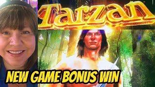 NEW GAME-TARZAN SWINGS TO A WIN