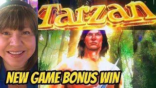NEW GAME-TARZAN SWINGS TO A WIN