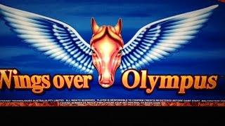 Wings Over Olympus Slot Bonus- Aristocrat