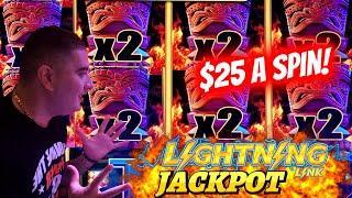 ⋆ Slots ⋆HANDPAY JACKPOT⋆ Slots ⋆  On High Limit TIKI FIRE Lightning Link Slot | Las Vegas Casino JA