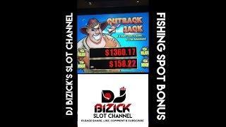 ~*** FISHING SPOT BONUS ***~ Outback Jack Slot Machine ~ WTF JACK?? • DJ BIZICK'S SLOT CHANNEL