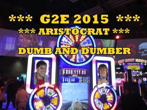 G2E Preview - Aristocrat - Dumb and Dumber