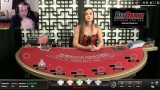 Live Stream 2 Blackjack Professional, Michael Morgenstern Live Stream