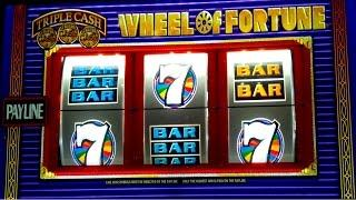 Wheel of Fortune Slot - Triple Cash - $10 Max Bet Bonus!