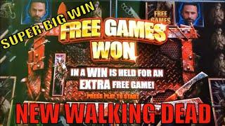 •SUPER BIG WIN ! NEW WALKING DEAD ! !•THE WALKING DEAD 3 Slot (Aristocrat) $3.00 Bet •Live Play•栗