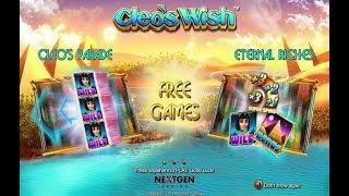 Cleo's Wish Online Slot from NextGen Gaming