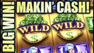 •NEW SLOT! BIG WIN! • MAKIN' CASH & ROCKIN' CASH (Aristocrat) Slot Machine Bonus