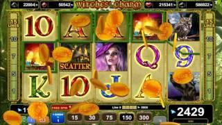 Witches Charm slot - 5,370 win!