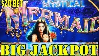 BIG JACKPOTS | INSANE RETRIGGER ON MYSTICAL MERMAID | HIGH LIMIT SLOT MACHINE