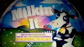 Milkin' It Slot - $6.25 Max Bet - GREAT SESSION!