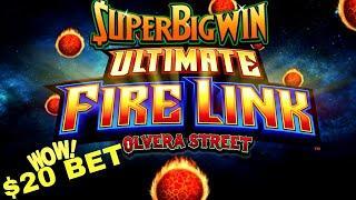 ULTIMATE FIRE LINK Slot Machine Bonuses & BIG WINS | China Street & Olvera Street Ultimate Fire Link