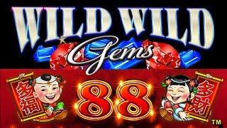 Wild Wild Gems • 88 Fortunes • The Slot Cats •