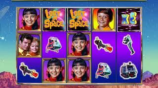 LOST IN SPACE Video Slot Casino Game with a SPACE ADVENTURE SPIN BONUS