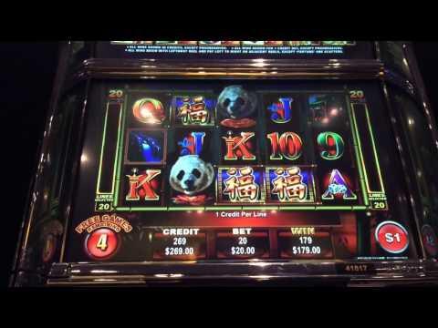 Ainsworth Panda King HANDPAY JACKPOT $20 bet high limit slo
