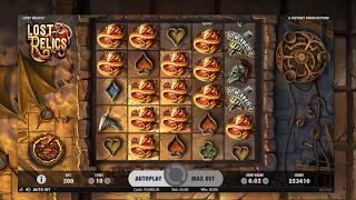Lost Relics Slot (Netent) Super Mega Win