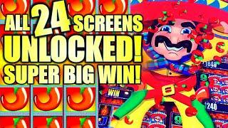 ALL 24 SCREENS UNLOCKED WOW!! 40 CHILLIS! ⋆ Slots ⋆ MORE MORE CHILLI Slot Machine (Aristocrat Gaming