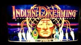 INDIAN DREAMING ** BONUS!!!  ** 10c ** BY ARISTOCRAT SLOT MACHINE