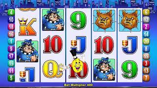 MR CASHMAN JAILBIRD Video Slot Casino Game with a CASHMAN CHANGES REELS BONUS