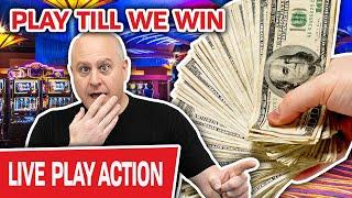 ⋆ Slots ⋆ We KEEP PLAYING SLOTS Until We WIN ⋆ Slots ⋆ High-Limit LIVE CASINO Action