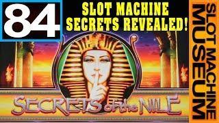 SECRETS OF THE NILE (Bally)  - [Slot Museum] ~ Slot Machine Review