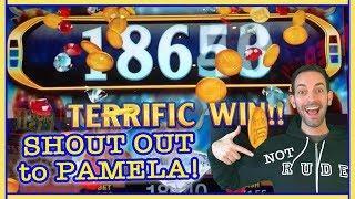 • Longhorn Jackpots •BIG WIN•+Shout Out to Pamela! • Slot Machine Pokies w Brian Christopher