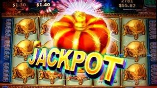 JACKPOT !!! & PLAYS  on CHINA MYSTERY - 2c Konami Video Slots