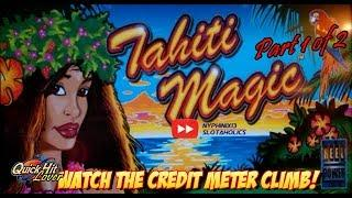 Tahiti Magic Slot Bonuses BIG WIN Part 1