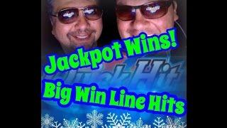 QUICK HIT SLOT MACHINE,** MAX BET Bonuses, Jackpots, Line Hits ** Holiday Special!! Season Finale