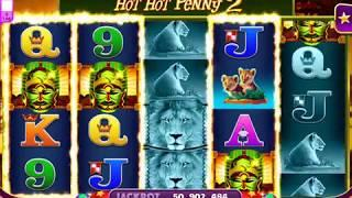 HOT HOT PENNY 2 Video Slot Casino Game with a FREE SPIN BONUS