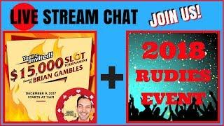 • LIVE STREAM CHAT • From Yonkers NY • FREE Tournament + More! • Brian Christopher Slots