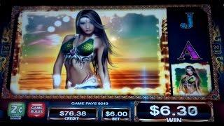 "Sky Rider Slot Machine $6 Max Bet *LIVE PLAY* Free Spins ""Wild"" Bonus!"