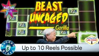 ⋆ Slots ⋆️ New - Beast Uncaged Gorilla Slot Machine Bonus with Lots of Reels