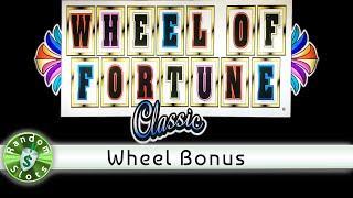 Wheel of Fortune Classic Slot Machine, Wheel Bonus