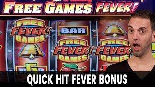 • Quick Hit FEVER Bonus! • Doubling Up on Lightning Link
