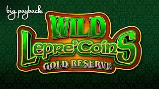 NEW & COOL! Wild Lepre'Coins Gold Reserve Slot - SHORT & SWEET WIN!
